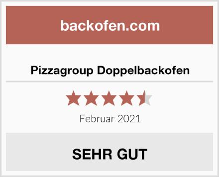 Pizzagroup Doppelbackofen Test