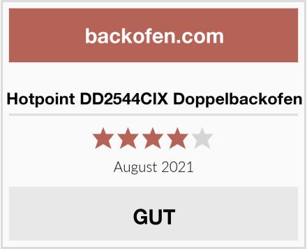 Hotpoint DD2544CIX Doppelbackofen Test