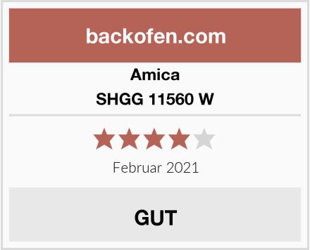 Amica SHGG 11560 W Test
