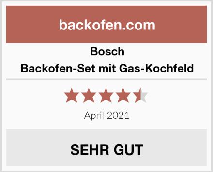 Bosch Backofen-Set mit Gas-Kochfeld Test
