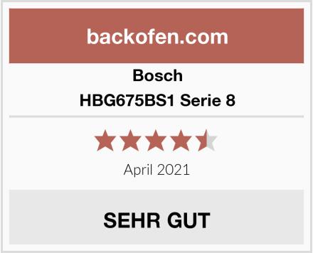 Bosch HBG675BS1 Serie 8 Test