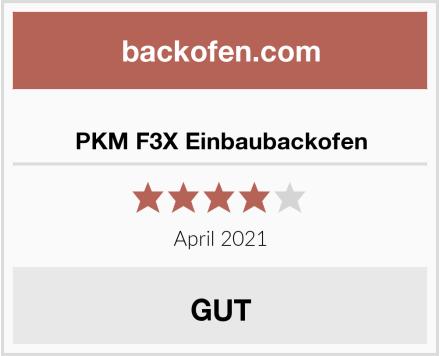 PKM F3X Einbaubackofen Test