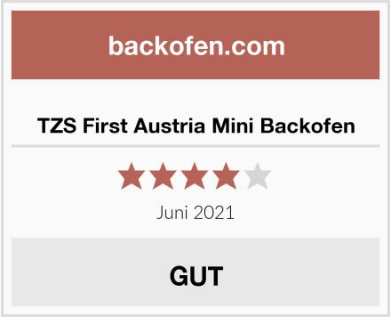 TZS First Austria Mini Backofen Test