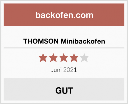 THOMSON Minibackofen Test