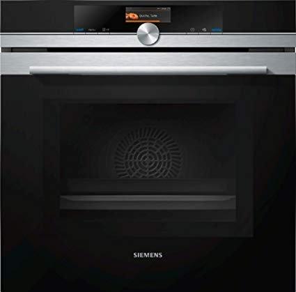 Siemens iQ700 Einbau-Elektro-Backofen mit Mikrowelle HM676G0S1