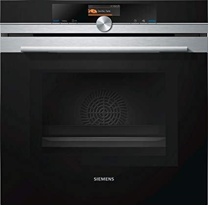 Siemens iQ700 Einbau-Elektro-Backofen mit Mikrowelle HM676G0S6