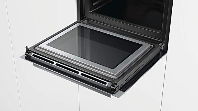 Siemens IQ700 Einbau-Elektro-Backofen Mit Mikrowelle