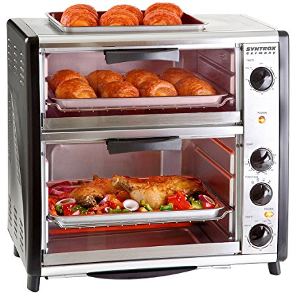 Syntrox Germany Barbecue Backofen