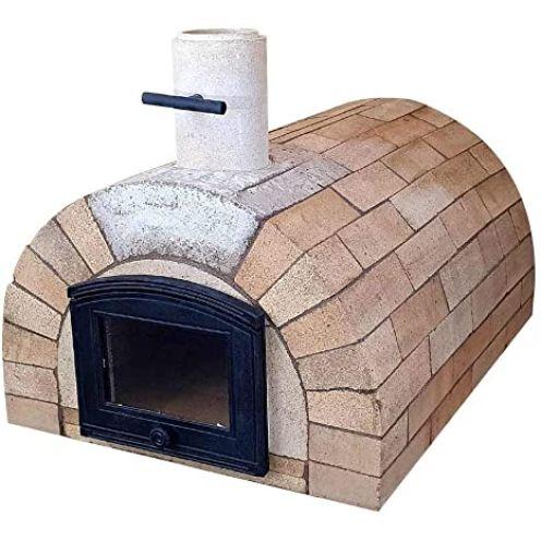 PUR Schamotte Toskana Ofen