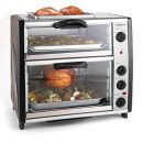 OneConcept All-You-Can-Eat-Backofen mit Grillplatte